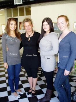 Enriqueta McGrath, Carmen Duma, Sara Ritchie, Anthea McCormick