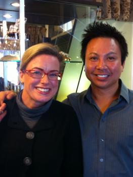 Rachel McSweeney (Masterchef 2011) & Matt-Yuko